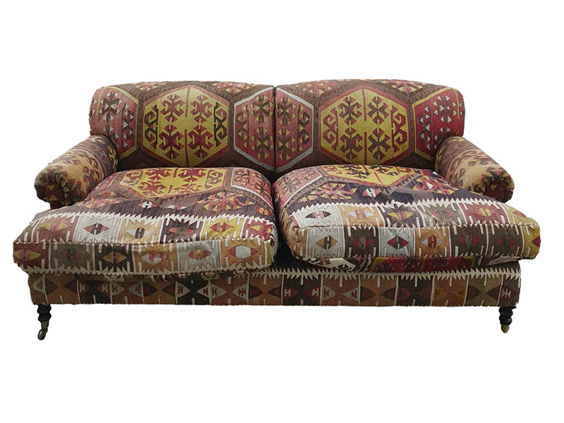 The-Cotswold-Auction-Company-George Smith Ltd sofa in the manner of Howard of London Sold for £1,700