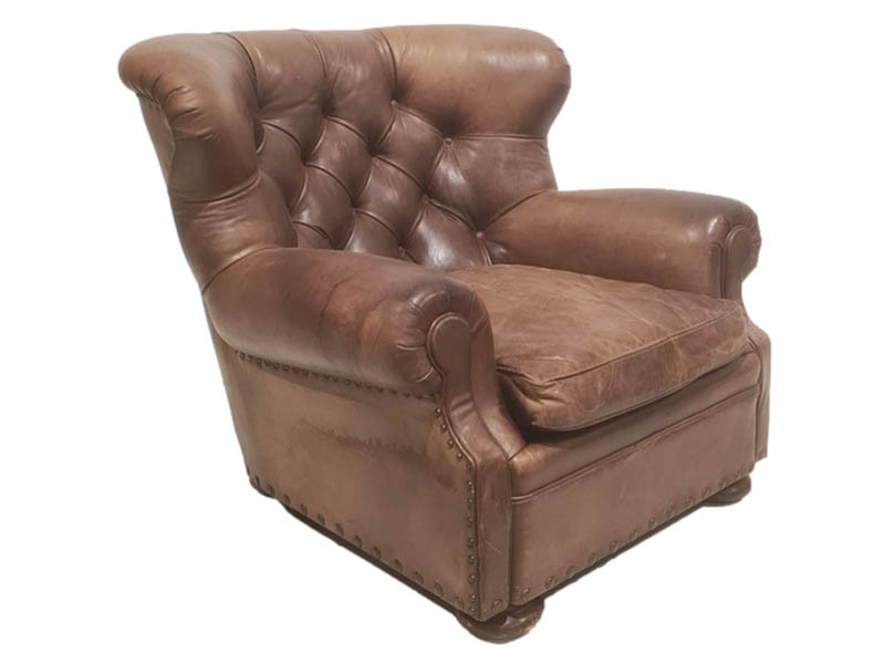 The-Cotswold-Auction-Company-Ralph Lauren 20th century leather armchair sold for £2,400