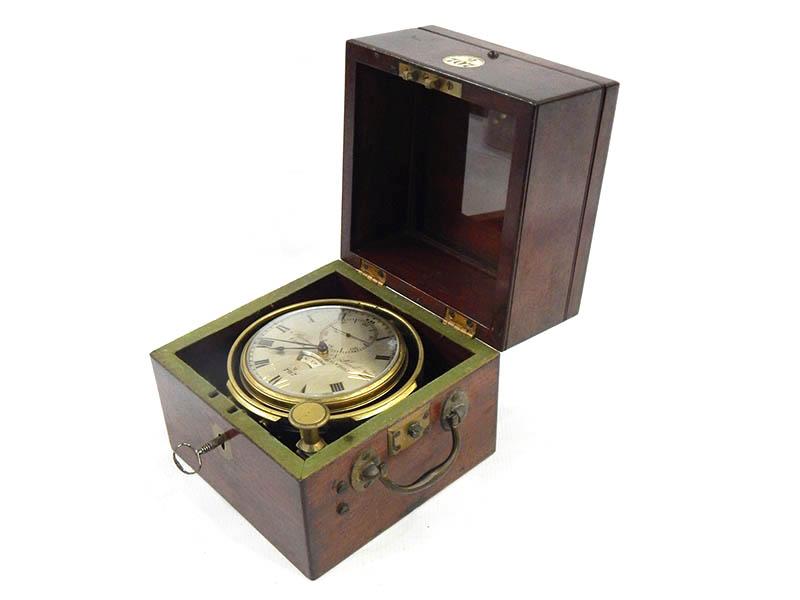 Mid 19th century marine chronometer sold for £2,400