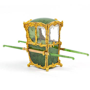 The-Cotswold-Auction-Company-Faberge nephrite miniature sedan chair