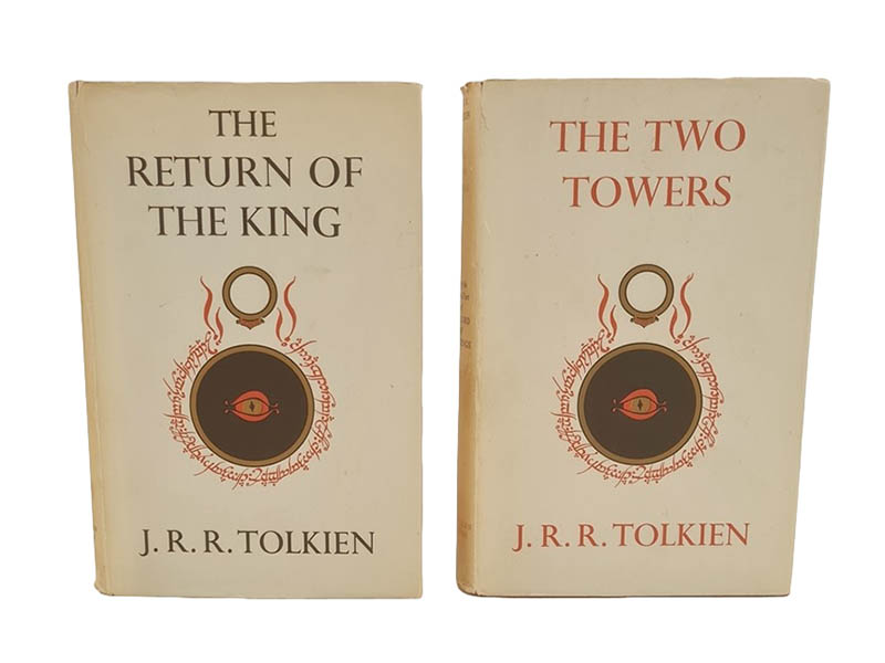 The-Cotswold-Auction-Company-J R R Tolkien 'The Two Towers' and 'The Return of the King'
