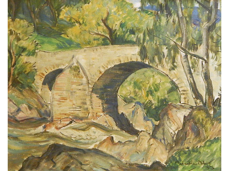The-Cotswold-Auction-Company-John Maclauclan Milne - Oil on board, sold for £5,500