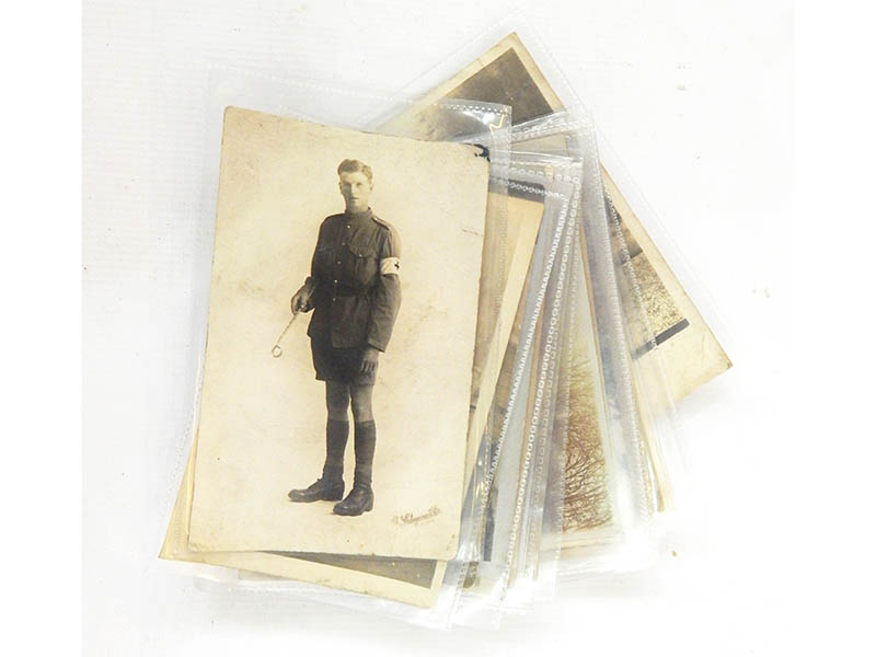 The-Cotswold-Auction-Company-Large collection of WWI photographic postcards sold for £1,300