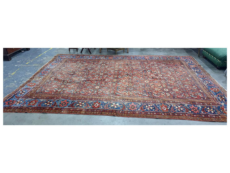 The-Cotswold-Auction-Company-Red ground eastern rug sold for £1,400