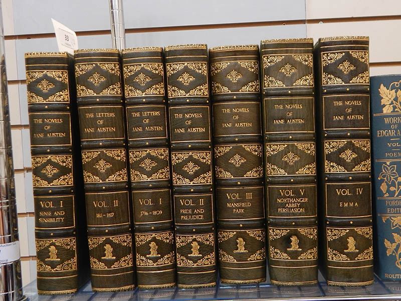 The-Cotswold-Auction-Company-'The Novels' and 'The Letters of Jane Austin' sold for £1,600