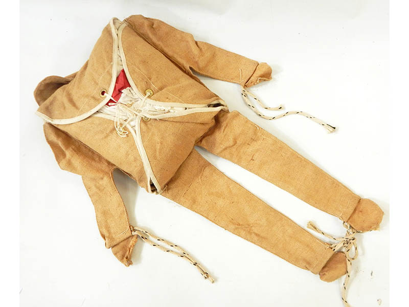 The-Cotswold-Auction-Company-rare WWII para-dummy, also known as 'Rupert' sold for £1,400