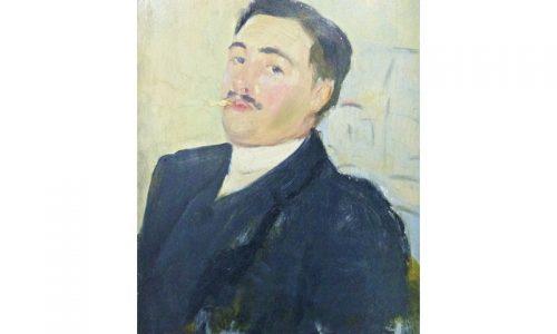 Jacques Emile Blanche (1861-1942) oil half portrait, est. £1,000 - £2,000_clipped_rev_1